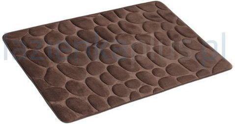 AWD Interior Dywanik łazienkowy 50x80 cm kamień brązowy AWD02161143