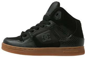 DC Shoes REBOUND Buty skejtowe black 303310A chłopcy