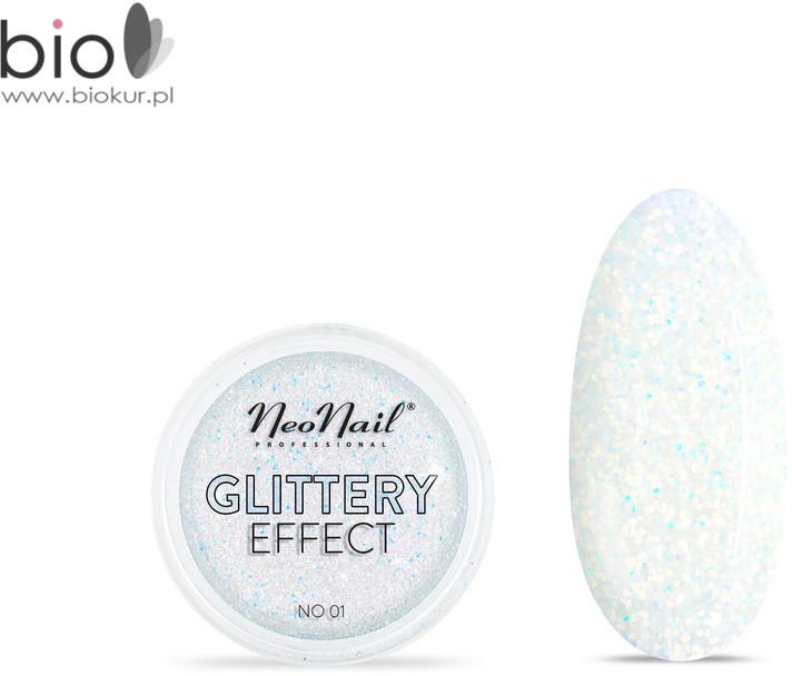 Neonail Puder Glittery Effect No 01