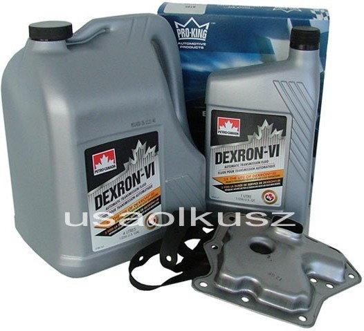 Petro-Canada Filtr oraz olej Dextron-VI automatycznej skrzyni biegów Nissan Alti