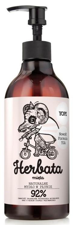 Yope Mydło w Płynie Herbata i Mięta 500ml
