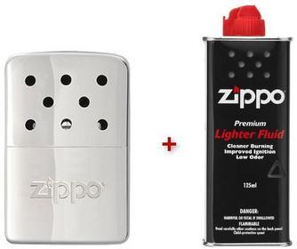 Zippo Ogrzewacz do rąk 6h srebrny + benzyna