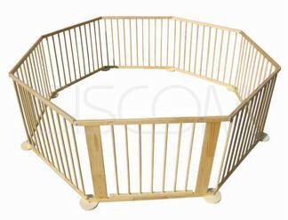 FUN BABY Kojec dla dzieci 8 - elementowy z bramką