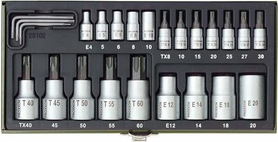 Proxxon Zestaw kluczy TX - 23102