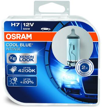 OSRAM H7 12V 55W PX26d COOL BLUE Intense
