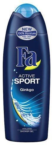 Fa Schwarzkopf Żel pod prysznic Active Sport Ginkgo 250 ml