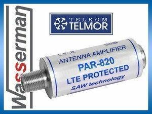 Telmor Przelotowy wzmacniacz antenowy PAR-820 LTE PROTECTED