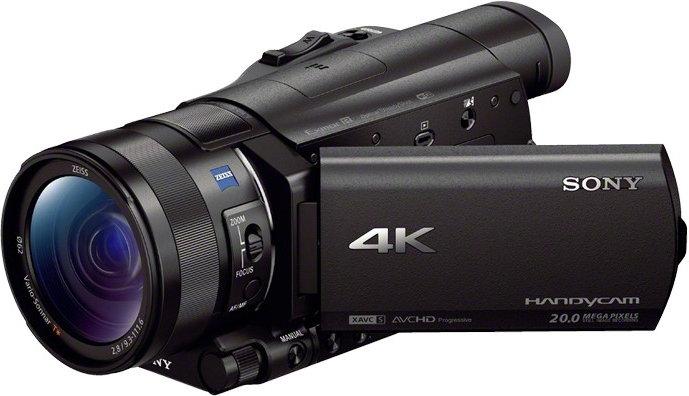 Opinie o Sony FDR-AX100