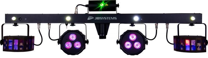 JB SYSTEMS Party Bar - kompletny Zestaw oświetleniowy