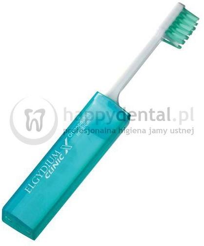 Pierre Fabre ELGYDIUM Clinic X Ortho-Pocket - szczoteczka ortodontyczna podróżna