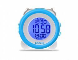 Gotie Budzik elektroniczny z mechanicznym dzwonkiem Wake Up Clock GBE-200N