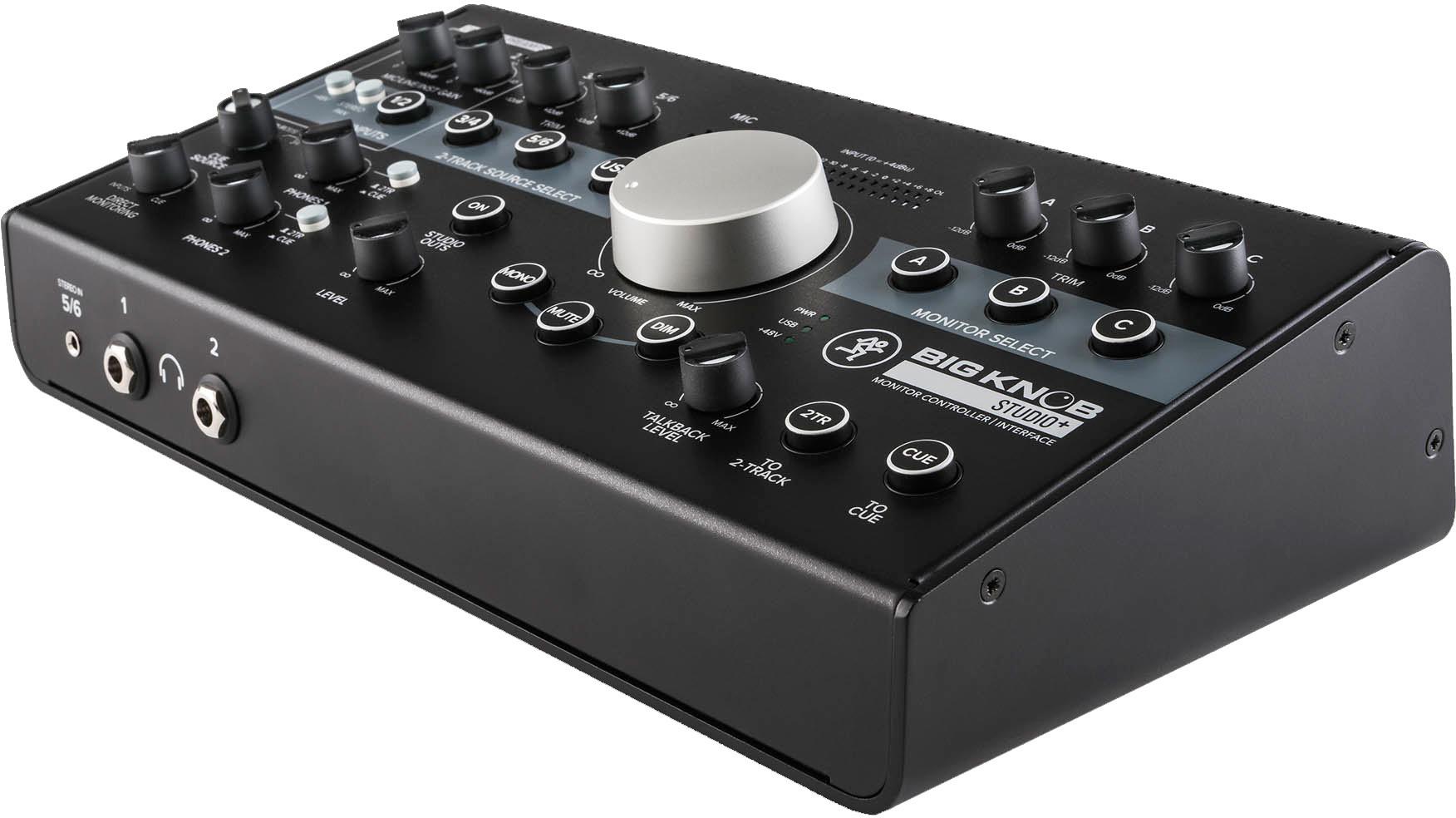 Mackie BIG KNOB Studio Plus - interfejs audio