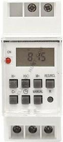 Lamex PROGRAMATOR CZASOWY TIMER LCD NA SZYNE TH35 Cyfrowy