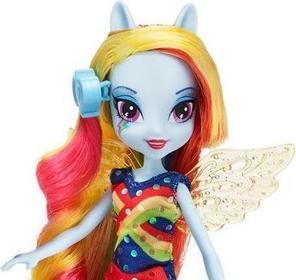 Hasbro My Little Pony Equestria Girls - Lalka z akcesoriami Rainbow Dash A5044
