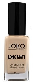 JOKO Long Matt Podkład matujący 117 Dark beige 30ml 5903216100685