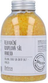 Sefiros Original Dead Sea Bath Salt Vanilla 500g Sól do kąpieli 63629
