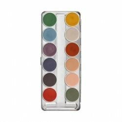 KRYOLAN Supracolor Interferenz paleta 12 farb do twarzy i ciała Darmowa dostawa