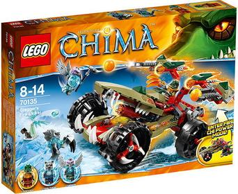 LEGO 70135 Legends of Chima - Ognisty myśliwiec Craggera