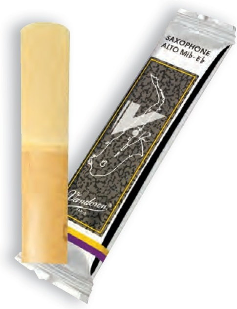 Vandoren SR6125 twardość 2.5 - stroik do saksofonu altowego Eb V12 - twardość 2.