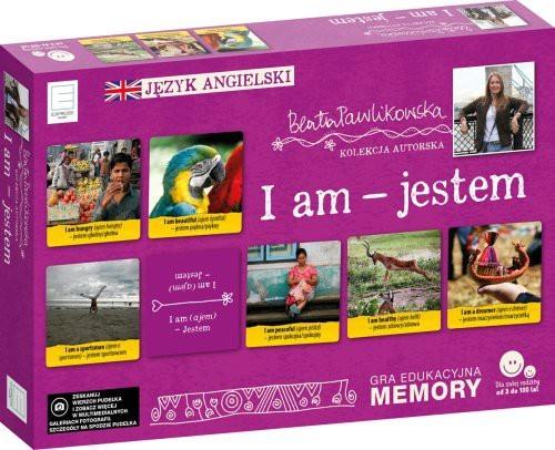 Edipresse Książki Edukacyjne memory językowe I am Jestem Beata Pawlikowska
