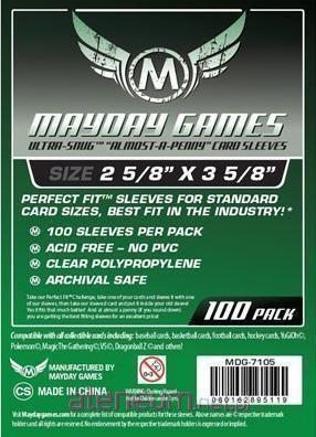 Mayday Games Koszulki Standard CCG U-F 63,5x88 (100szt) MAYDAY