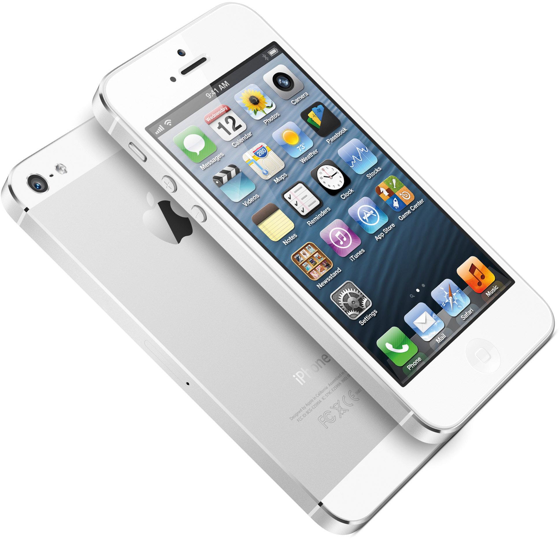 iphone 5s biały ekran
