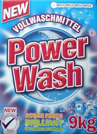 Power Wash proszek do prania - 9 kg