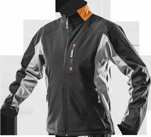 NEO-TOOLS kurtka robocza wodoodporna, wiatroochronna, softshell rozmiar XL 81-550-XL