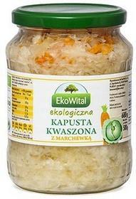 Eko Wital Kapusta kwaszona z marchewką BIO 680g/500g EkoWital