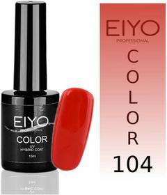 EIYO Lakier hybrydowy, Elegance - Koral z Czerwienią - 104 - 15ml