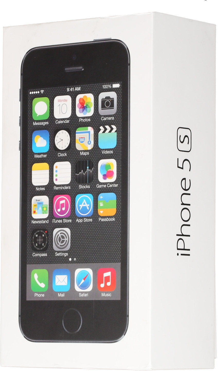 Apple iPhone 5s 16GB gwiezdna szarość