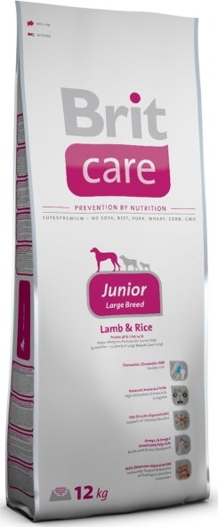 Opinie o Brit Care Large Junior Breed Lamb&Rice 12 kg