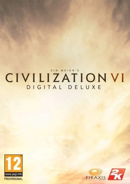 Sid Meiers Civilization VI Klucz Deluxe PC  Klucz MV0005087