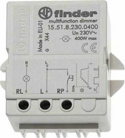 Finder Elektroniczny Przekaźnik impulsowy ze ściemniaczem 230V AC 400W 15-51-8-2