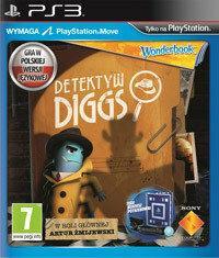 Detektyw Diggs + Wonderbook PS3