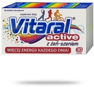 Jelfa Vitaral ACTIVE 30 szt.