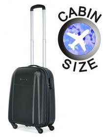 Puccini Mała walizka ABS02 C czarny ABS02 C 1 czarny