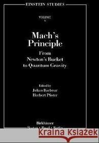 Julian B. Barbour J. Barbour H. Pfister Mach's Principle