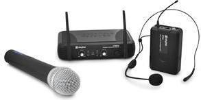 Bezprzewodowy zestaw mikrofonowy Skytec STWM722 UHF Sky-179.165