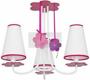 Nowodvorski Sufitowa Lampa dziecięca PRASLIN 5304 biały-Różowy