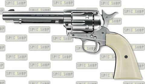 UMAREX Wiatrówka Colt SAA .45 - Nickel Pearl - 4,5 mm - 5.8309