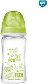 Canpol babies Antykolkowa szklana butelka EasyStart 240 ml 79/002 - 1 szt.