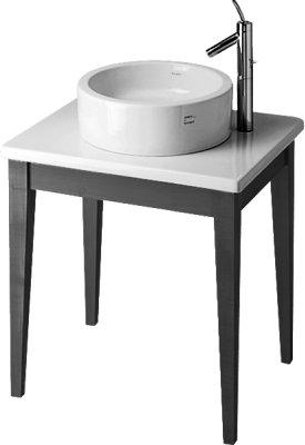 Duravit 0362000008 - - STRACK 1 Zestaw umywalka 0445460000 + stół drewniany, bla