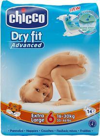 Chicco Extra Large 14szt 16-30kg) pieluszki jednorazowe 07175.00