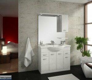Elita Zestaw Szafka z umywalką i lustrem ( 164011 + 145605 + 164021 )