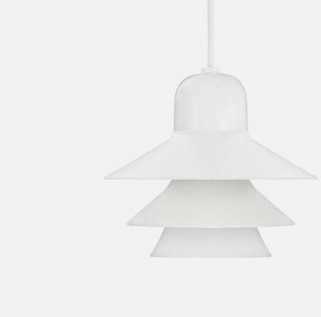 Normann Copenhagen Lampa wisząca Ikono Mała Biały 502303