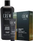 American Crew Precision Blend, zestaw do koloryzacji dla mężczyzn, odsiwiacz