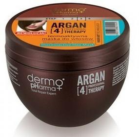Dermo Pharma Termoaktywna maska do włosów Argan[4] Therapy 250ml 5901738821545