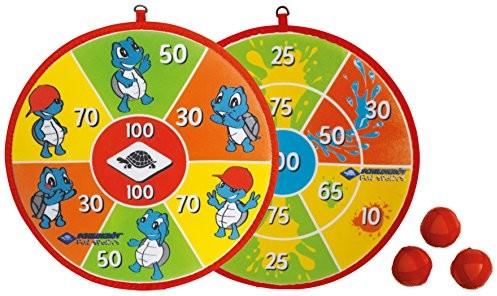 Schildkröt Funsports Soft Dart Set 970140 Dziecięcy Zestaw Do Darta, W Zestawie 2 X 3 Piłki Z Rzepami, Zapakowane W Blistrze