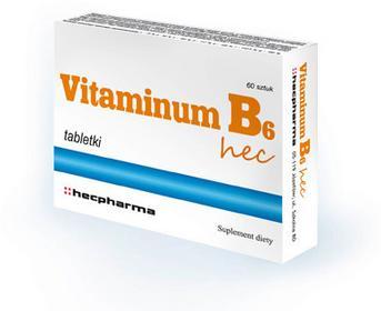 Hecpharma Vitaminum B6 60 szt.